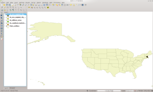 NECTADIV in QGIS