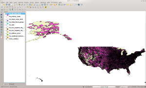 ZCTA5 in QGIS