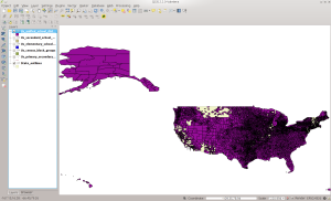 UNSD in QGIS