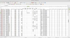 Topo Map CSV Results