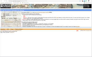 USGS Historic Maps Search