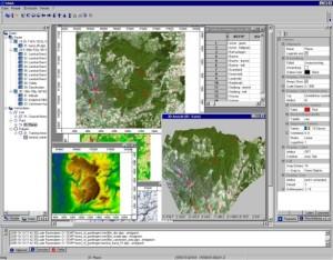 SAGA GIS Screenshot