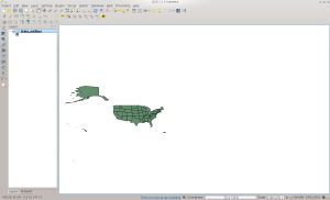 State Outlines table in QGIS