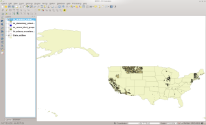 SCSD in QGIS