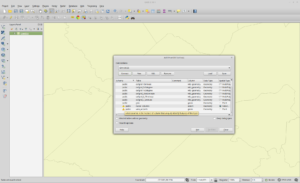 How a View Appears in QGIS