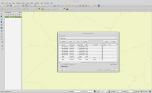 Select Feature ID Option in QGIS