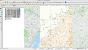 Map Showing No Actual Virginia Coverage